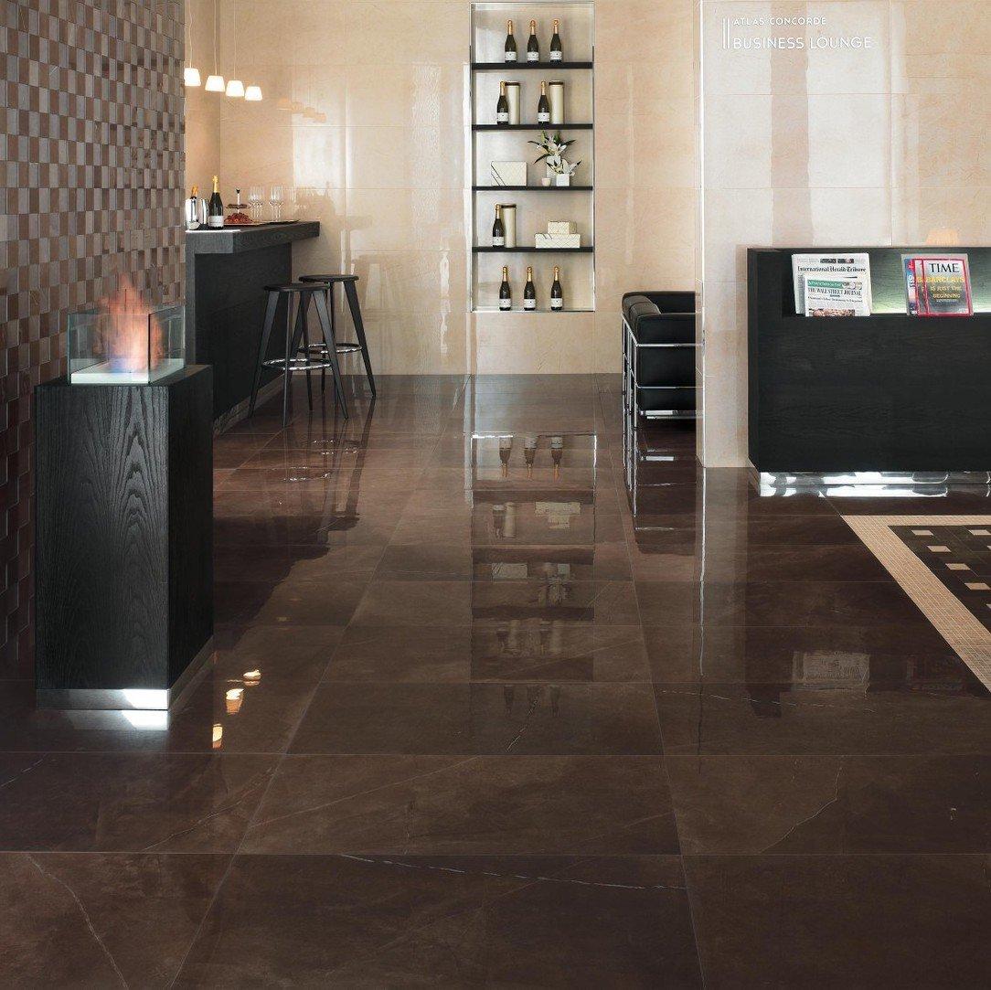 piastrelle effetto marmo bronzo